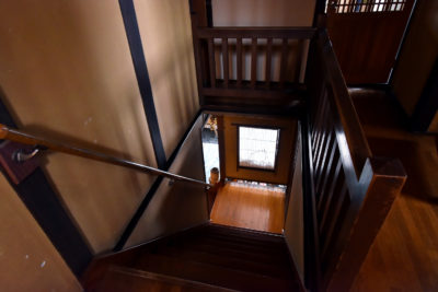 飛騨高山 旅館たかやま 階段