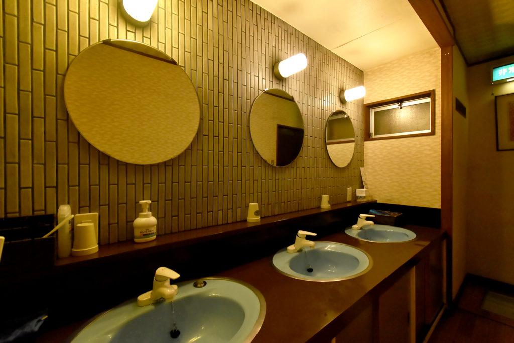 飛騨高山 旅館たかやま 洗面所