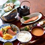 朴葉味噌 朝食