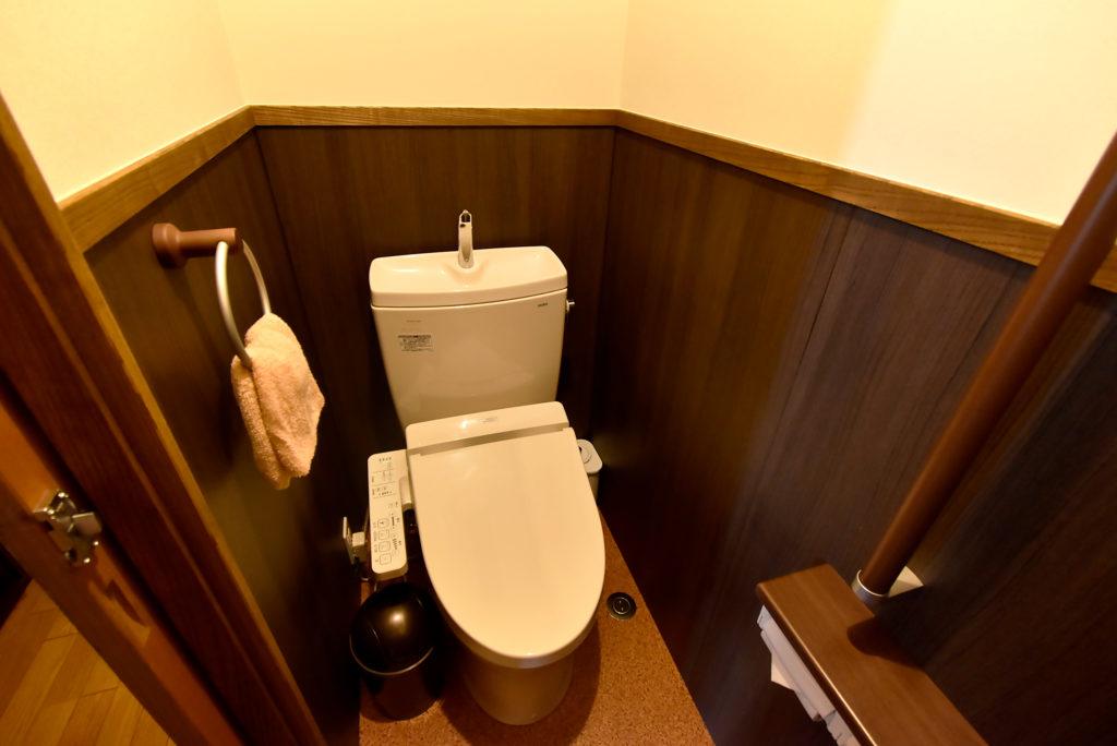 飛騨高山 旅館たかやま 温水洗浄便座付きトイレ