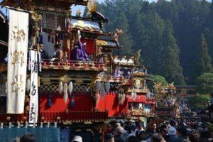秋の高山祭 八幡祭