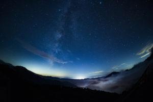 満点の星空 天体観測
